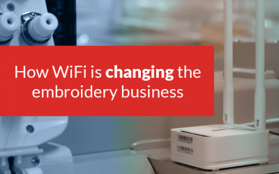The WiFi effect: How new tech is moving the embroidery world into the future