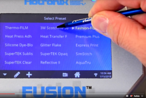 Fusion IQ smart heatpress