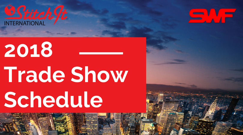 2018 Embroidery & Apparel Trade Show Dates Announced