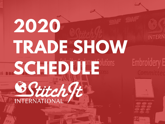 2020 Trade Show Schedule for Stitch It International
