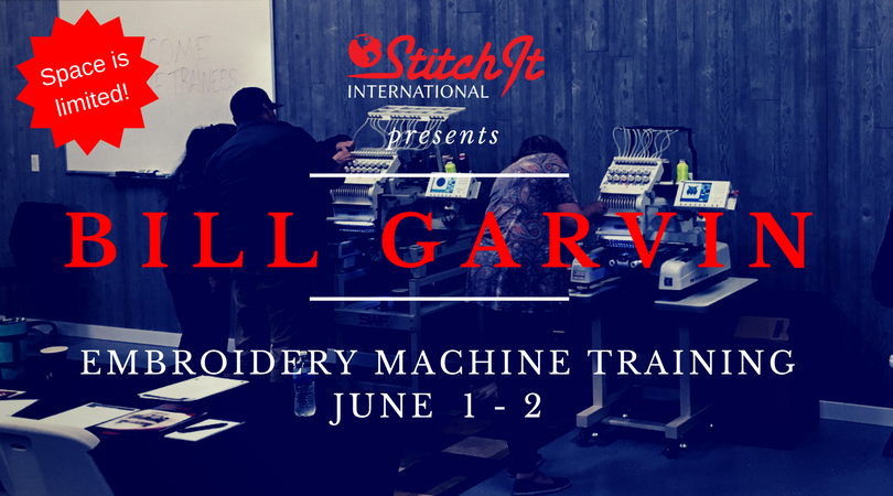 Bill Garvin Is Teaching A Two-Day Course at Stitch It International