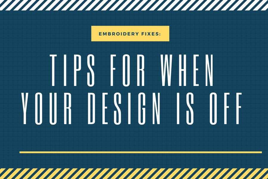 How To Fix Alignment Issues on Embroidery Designs