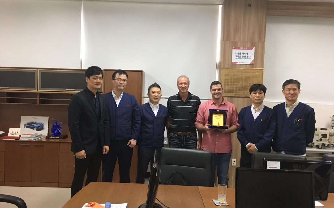 Stitch It International Visits Sunstar and SWF Headquarters in South Korea