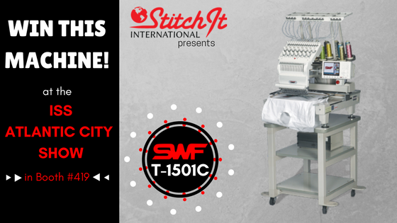 Last Chance to Enter Our Embroidery Machine Giveaway at the Upcoming ISS – Atlantic City Show