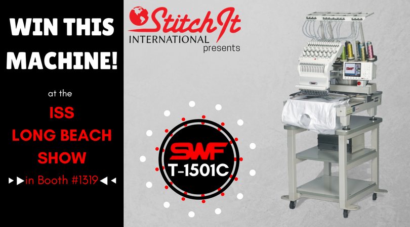 Stitch It International Is Having a SWF Machine Giveaway at the ISS Long Beach Show