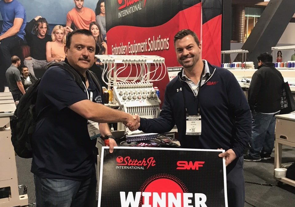 The Start of Something Big: Newest ISS Long Beach 2018 SWF Embroidery Machine Winner Builds Legacy