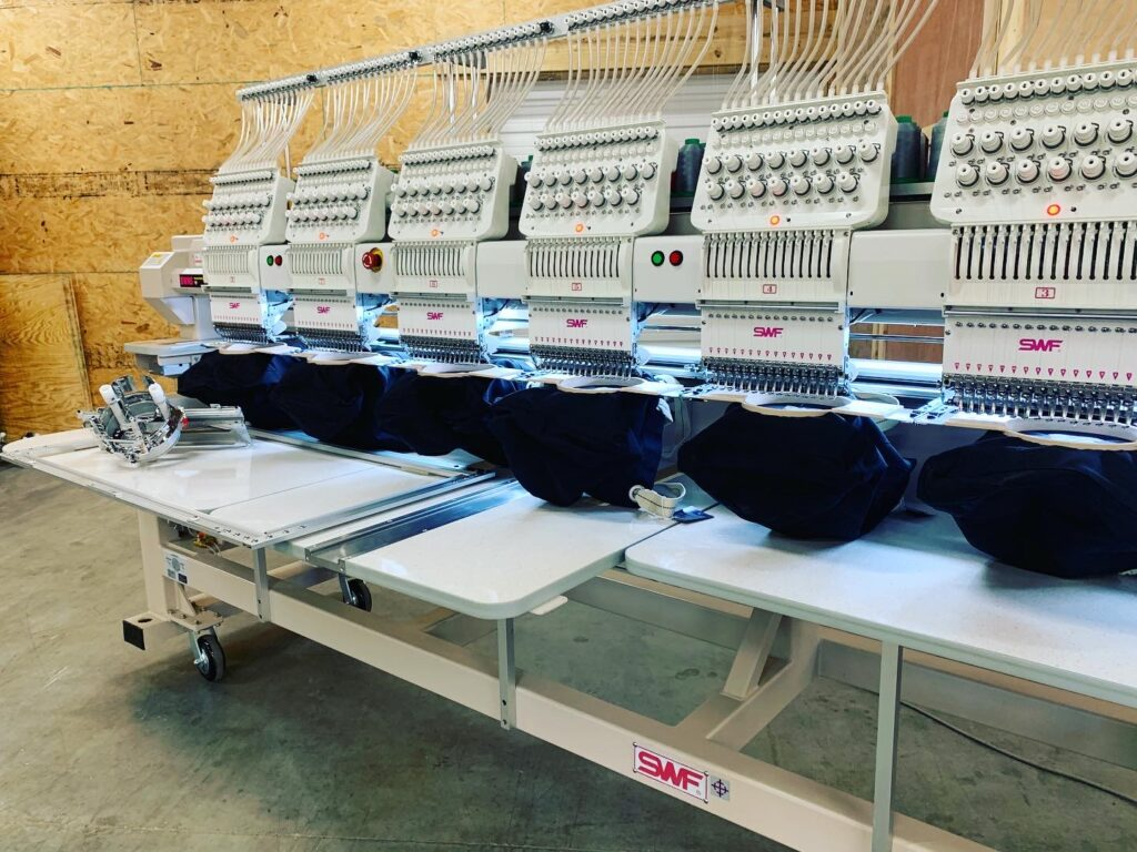 2021 swf embroidery machine
