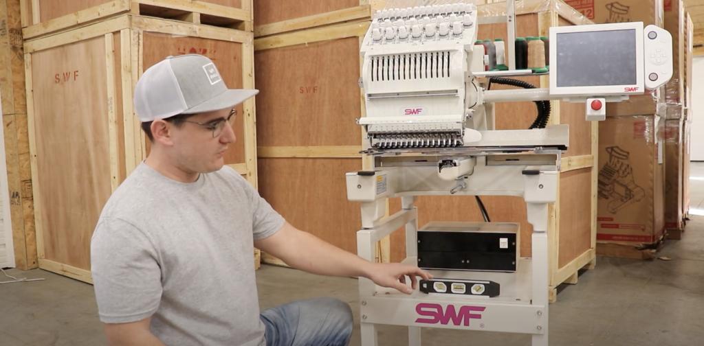 swf embroidery machine maintenance