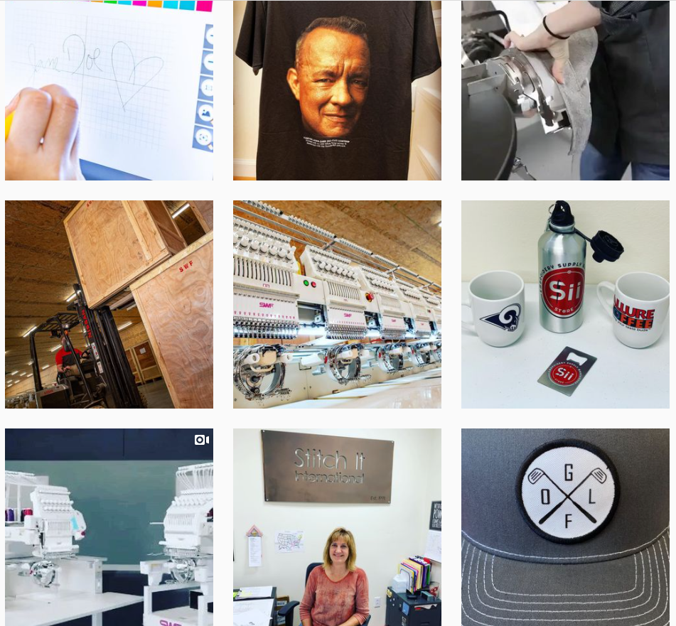 stitch it international instagram grid